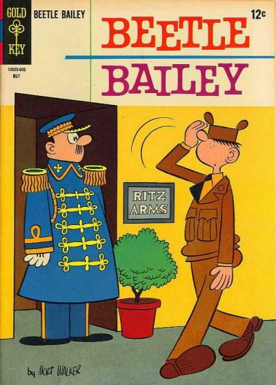 Cover for Beetle Bailey (Western, 1962 series) #53