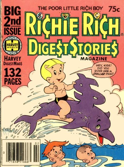 Cover for Richie Rich Digest Stories (Harvey, 1977 series) #2