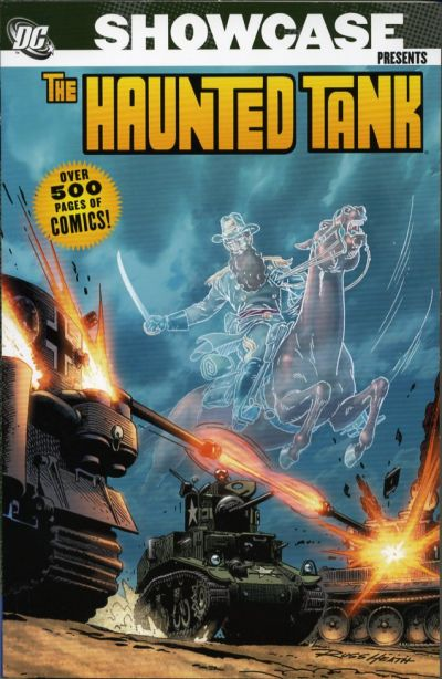 Cover for Showcase Presents: Haunted Tank (DC, 2006 series) #1