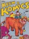 Cover for Keen Komics (Centaur, 1939 series) #1