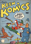 Cover for Keen Komics (Centaur, 1939 series) #3