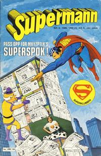Cover Thumbnail for Supermann (Semic, 1977 series) #6/1980