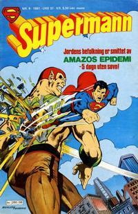 Cover Thumbnail for Supermann (Semic, 1977 series) #8/1981