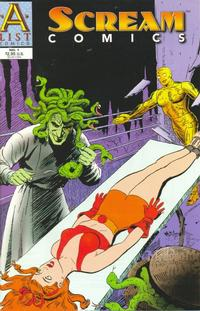 Cover Thumbnail for Scream Comics (A List Comics, 1998 series) #1