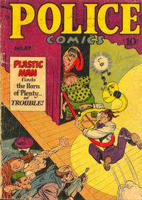 Cover Thumbnail for Police Comics (Alval Publishers, 1949 series) #87