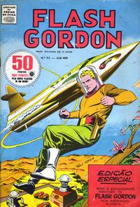 Cover Thumbnail for Flash Gordon - Magazine (Rio Gráfica Editora, 1956 series) #55
