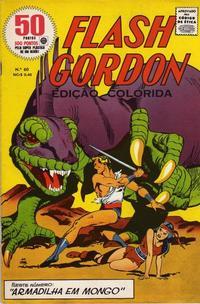 Cover for Flash Gordon - Magazine (Rio Gráfica e Editora, 1956 series) #60