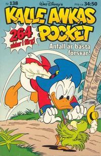 Cover Thumbnail for Kalle Ankas pocket (Serieförlaget [1980-talet]; Hemmets Journal, 1986 series) #138 - Anfall är bästa försvar!