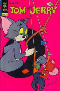 Cover Thumbnail for Tom and Jerry (Western, 1962 series) #294 [Gold Key]