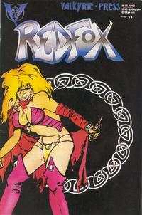 Cover Thumbnail for Redfox (Valkyrie Press, 1987 series) #11