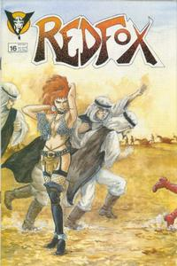 Cover Thumbnail for Redfox (Valkyrie Press, 1987 series) #16