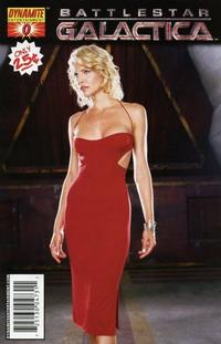 Cover Thumbnail for Battlestar Galactica (Dynamite Entertainment, 2006 series) #0 [Cover B - Six Photograph]