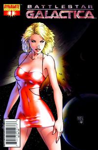 Cover Thumbnail for Battlestar Galactica (Dynamite Entertainment, 2006 series) #1 [Michael Turner Cover]