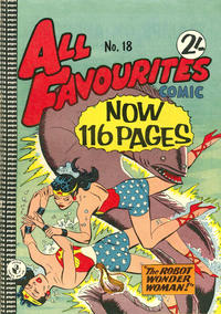 Cover Thumbnail for All Favourites Comic (K. G. Murray, 1960 series) #18