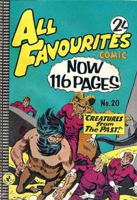 Cover Thumbnail for All Favourites Comic (K. G. Murray, 1960 series) #20