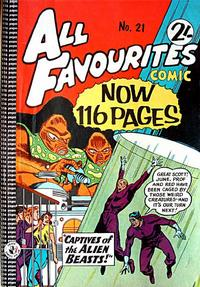 Cover Thumbnail for All Favourites Comic (K. G. Murray, 1960 series) #21