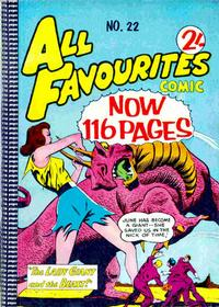 Cover Thumbnail for All Favourites Comic (K. G. Murray, 1960 series) #22