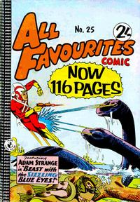 Cover Thumbnail for All Favourites Comic (K. G. Murray, 1960 series) #25