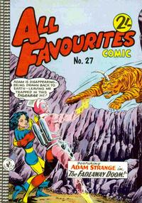 Cover Thumbnail for All Favourites Comic (K. G. Murray, 1960 series) #27