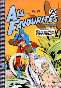 Cover Thumbnail for All Favourites Comic (K. G. Murray, 1960 series) #29