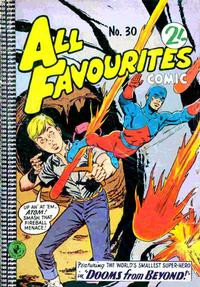Cover Thumbnail for All Favourites Comic (K. G. Murray, 1960 series) #30