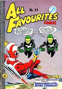 Cover Thumbnail for All Favourites Comic (K. G. Murray, 1960 series) #34