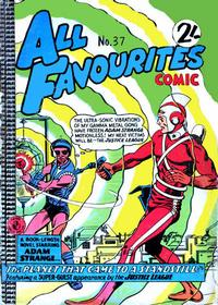 Cover Thumbnail for All Favourites Comic (K. G. Murray, 1960 series) #37