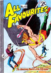 Cover Thumbnail for All Favourites Comic (K. G. Murray, 1960 series) #43