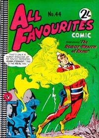 Cover Thumbnail for All Favourites Comic (K. G. Murray, 1960 series) #44