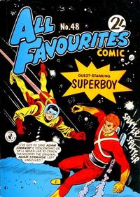 Cover Thumbnail for All Favourites Comic (K. G. Murray, 1960 series) #48