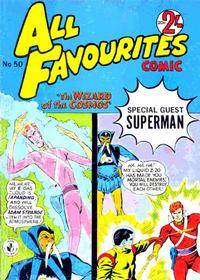 Cover Thumbnail for All Favourites Comic (K. G. Murray, 1960 series) #50
