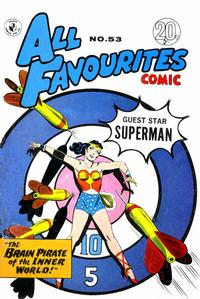Cover Thumbnail for All Favourites Comic (K. G. Murray, 1960 series) #53
