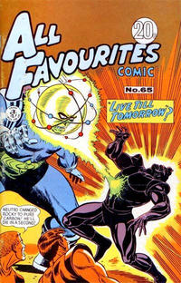 Cover Thumbnail for All Favourites Comic (K. G. Murray, 1960 series) #65