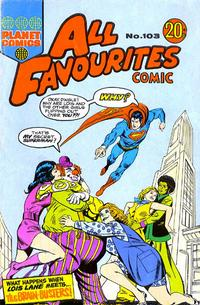 Cover Thumbnail for All Favourites Comic (K. G. Murray, 1960 series) #103