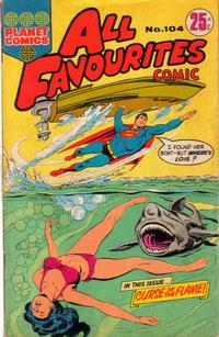 Cover Thumbnail for All Favourites Comic (K. G. Murray, 1960 series) #104