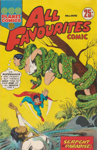 Cover Thumbnail for All Favourites Comic (K. G. Murray, 1960 series) #106