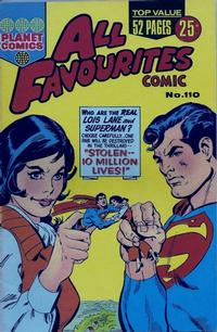 Cover Thumbnail for All Favourites Comic (K. G. Murray, 1960 series) #110