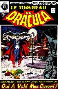 Cover Thumbnail for Le Tombeau de Dracula (Editions Héritage, 1973 series) #1