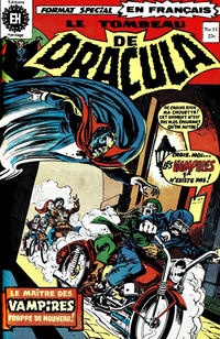 Cover Thumbnail for Le Tombeau de Dracula (Editions Héritage, 1973 series) #11