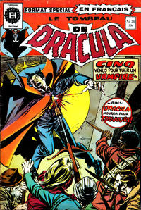 Cover Thumbnail for Le Tombeau de Dracula (Editions Héritage, 1973 series) #28