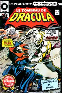 Cover Thumbnail for Le Tombeau de Dracula (Editions Héritage, 1973 series) #39