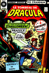Cover Thumbnail for Le Tombeau de Dracula (Editions Héritage, 1973 series) #41