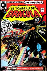 Cover Thumbnail for Le Tombeau de Dracula (Editions Héritage, 1973 series) #44