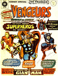 Cover Thumbnail for Les Vengeurs (Editions Héritage, 1974 series) #1