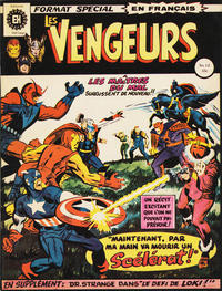 Cover Thumbnail for Les Vengeurs (Editions Héritage, 1974 series) #12