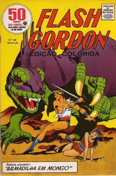 Cover for Flash Gordon - Magazine (Rio Gráfica e Editora, 1956 series) #60