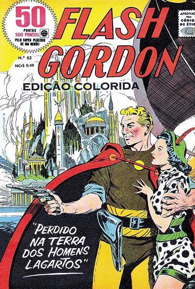 Cover for Flash Gordon - Magazine (Rio Gráfica e Editora, 1956 series) #62