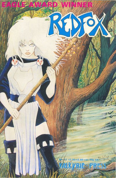 Cover for Redfox (Valkyrie Press, 1987 series) #12