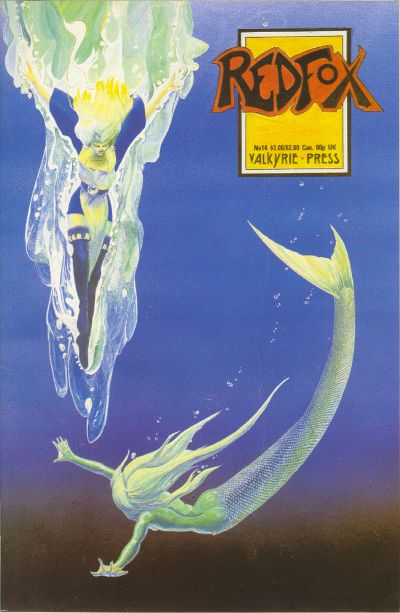 Cover for Redfox (Valkyrie Press, 1987 series) #14