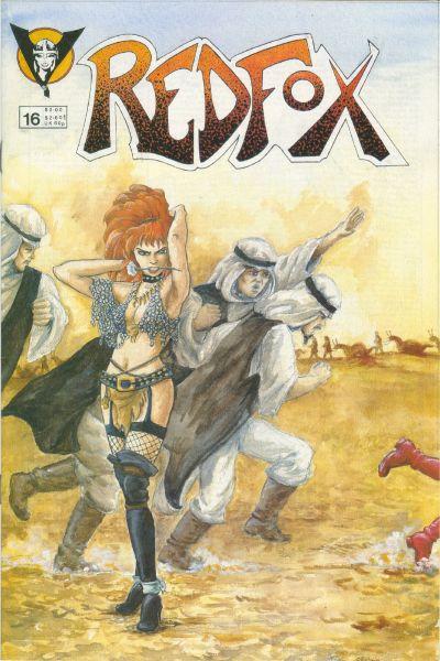 Cover for Redfox (Valkyrie Press, 1987 series) #16
